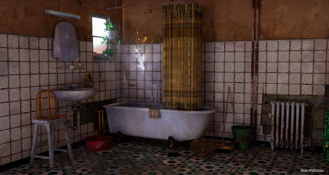 Bathroom render