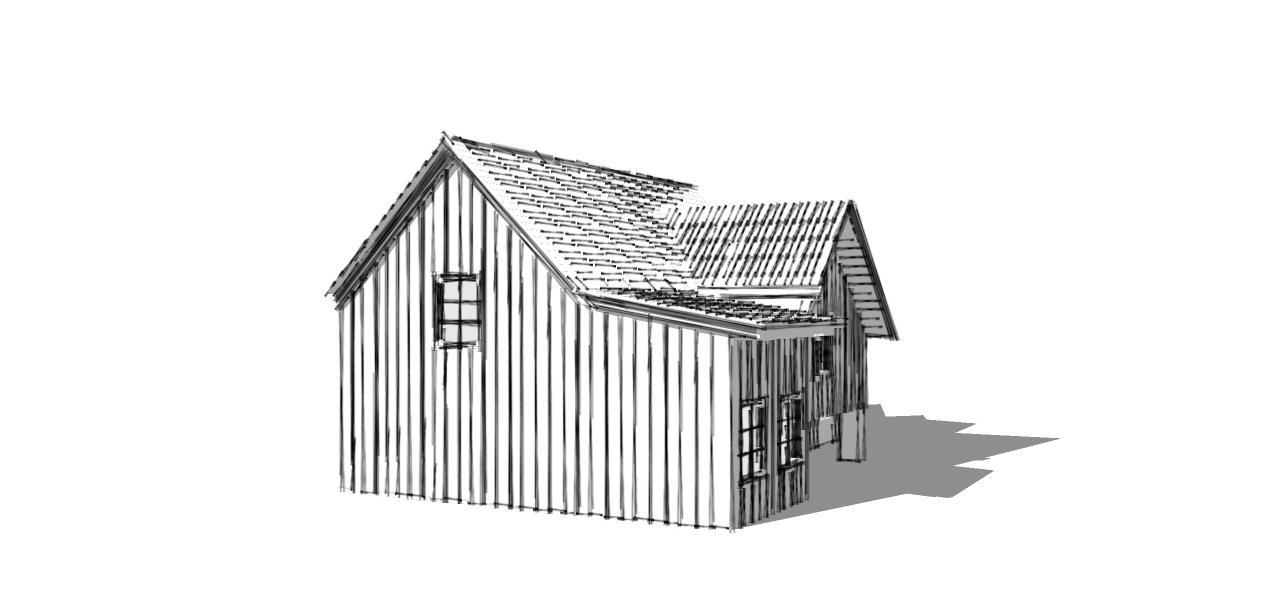 House sketch 1
